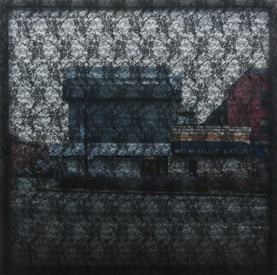 03 - ALI AHADI, Untitled (Shit Yes), 2018, 110X110 CM - LACE